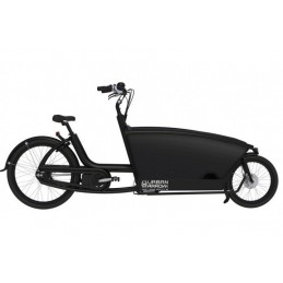 URBAN ARROW BAKFIETS MAT ZWART