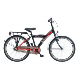 "LOEKIE 22"" LOEKIE X-PLORER JS BLACK/RED"