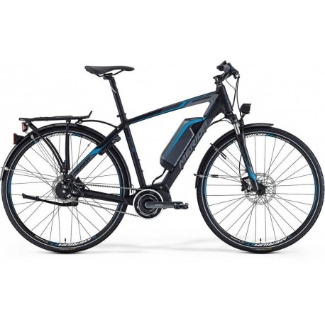 MERIDA E-SPRESSO 800 SPORT H56  M BLACK/BLUE/GREY