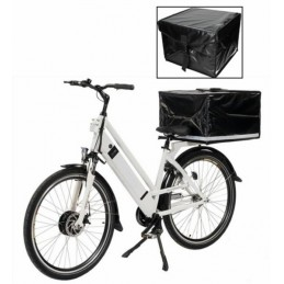 Pizza koffer voor e delivery fiets